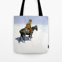 "Frederic Remington Western Art ""The Scout"" Tote Bag"