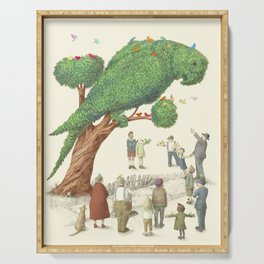 The Parrot Tree Serving Tray