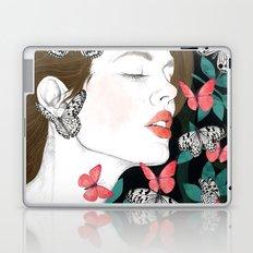 Butterflies // you make my heart flutter Laptop & iPad Skin