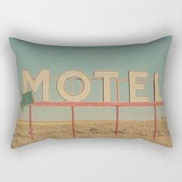Vintage Motel Rectangular Pillow