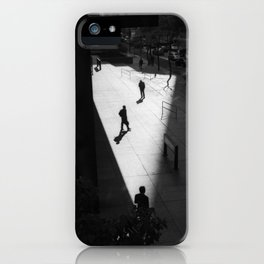 In Shapes we Sigh iPhone Case
