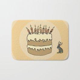 RABBIT CAKE Bath Mat