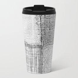 White & Grey Travel Mug