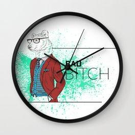 Bad News Bear Wall Clock