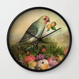 Mandarin Basilic Wall Clock