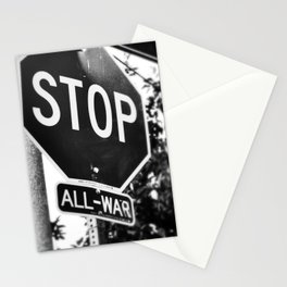 Stop All War. Stationery Cards