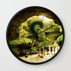Journey to Lady Liberty Wall Clock
