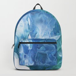 Blue Thunder by Julie Duerler Backpack