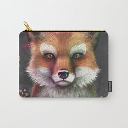 Fox of Spring Carry-All Pouch