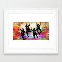 jewish Framed Art Prints featuring jewish by Mimi Eskenazi