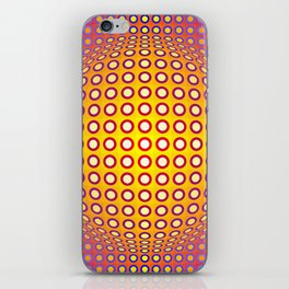 Vasarely style iPhone Skin