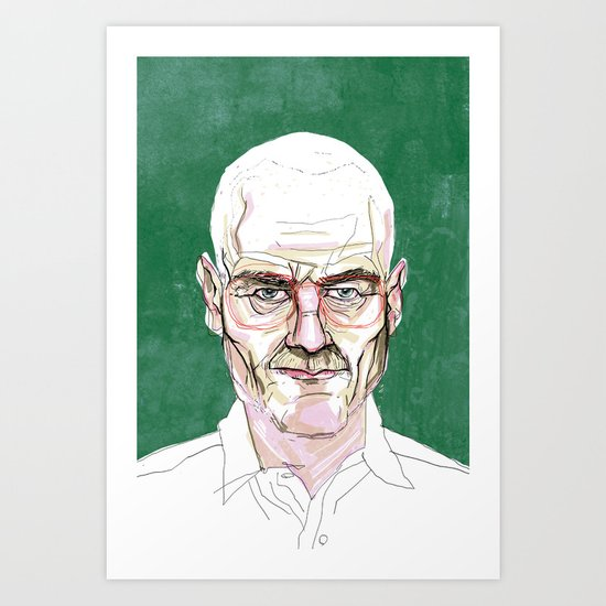 Walter Sr. Art Print