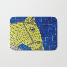 Yellow Horse Bath Mat