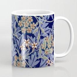 Blue Lillies Design Coffee Mug