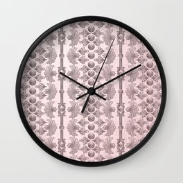 Ornamental Pattern 4 Wall Clock