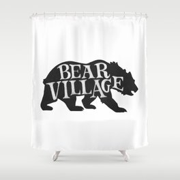 Bear Village - Grizzly Shower Curtain