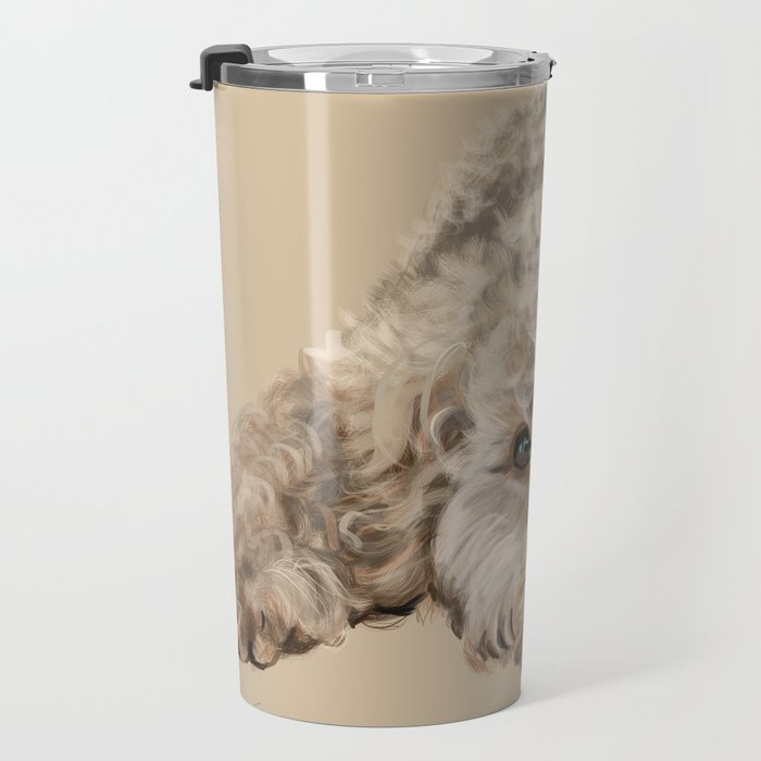 Labradoodle Travel Mug