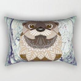 Ornate Otter Rectangular Pillow