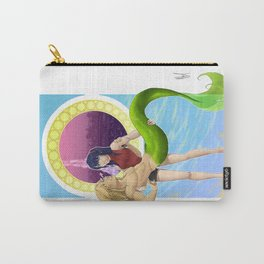 Two Waves Rising Carry-All Pouch