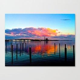 Long Wharf Canvas Print
