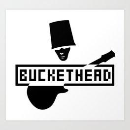 BUCKETHEAD P3 TOUR DATES 2019 TELUKBETUNG Art Print