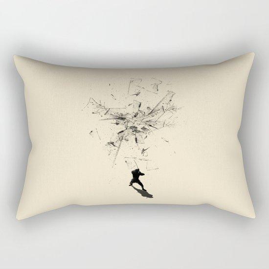 Ninja Moves Rectangular Pillow