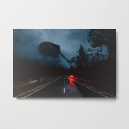 Yosemite Valley Gothic Metal Print
