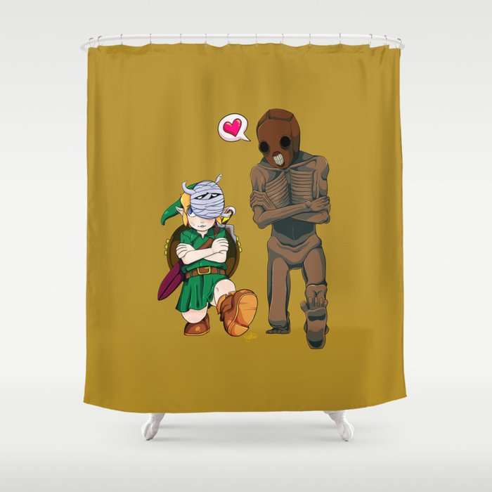 The Legend Of Zelda Dancing Redead Shower Curtain By Ff0555
