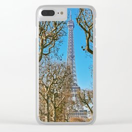 Eiffel Tower I Clear iPhone Case