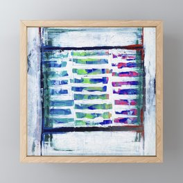 TELEVISION Framed Mini Art Print