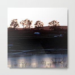 16ne002 Metal Print