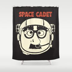 Space Cadet Shower Curtain