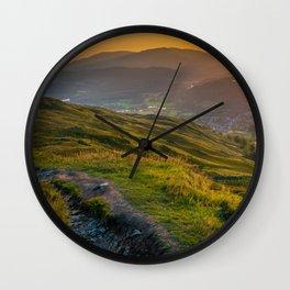 Lake District, England Wall Clock