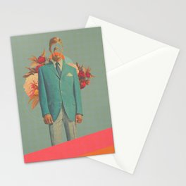 Absent Through my Adultness Stationery Cards
