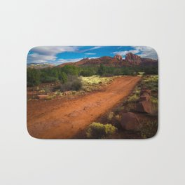 Red Desert Day Bath Mat