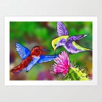 Nectar of Life Art Print
