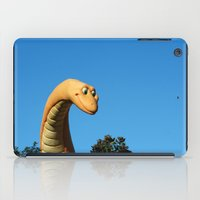 dinosaur iPad Cases featuring Dinosaur by Ink and Paint Studio
