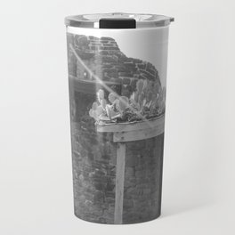 Rooftop Cacti Travel Mug