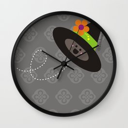 Witched Hat Wall Clock