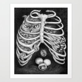 Alchemist's Cage Art Print