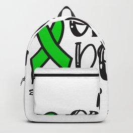 Organ Donation awareness, organ donor Backpack