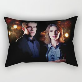 Fitzsimmons - Firelights Rectangular Pillow