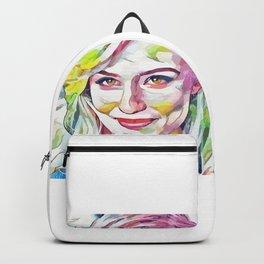 Dianna Agron (Creative Illustration Art) Backpack