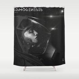 dead_astronaut Shower Curtain