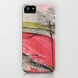 Color of Japan. Original Painting by Jodilynpaintings. Abstract Artwork. iPhone Case