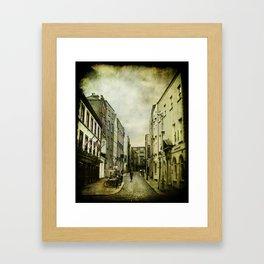 Dublin Street Framed Art Print