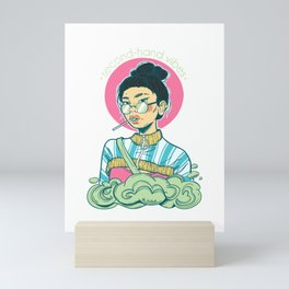 Second-hand Vibes - Bubblegum Kid Kati Mini Art Print