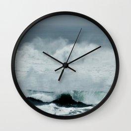 MOODY OCEAN Wall Clock