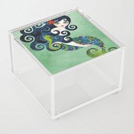 Aquamarine Mermaid Acrylic Box