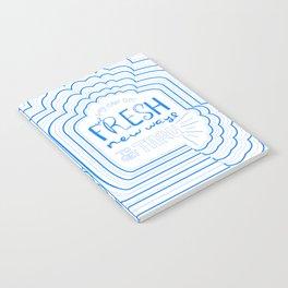 Fresh New Ways – Blueberry Notebook